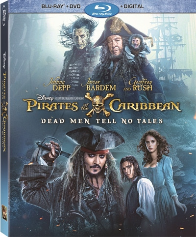 PIRATES OF THE CARIBBEAN: DEAD MEN TELL NO TALES bluray
