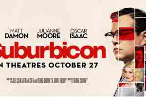 Suburbicon screening