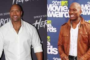 Tyrese Gibson vs Dwayne Johnson