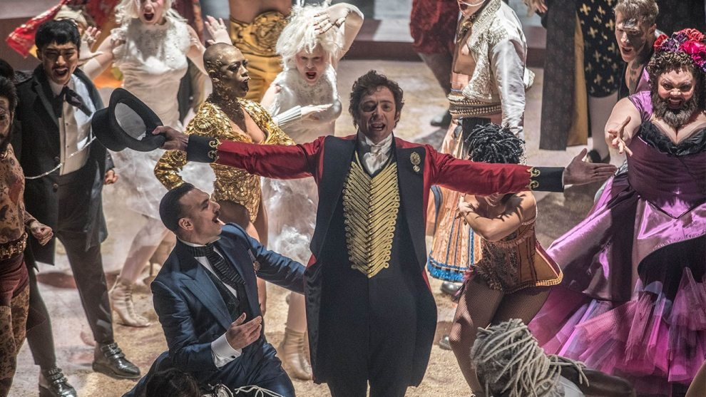 singalong event - greatest showman