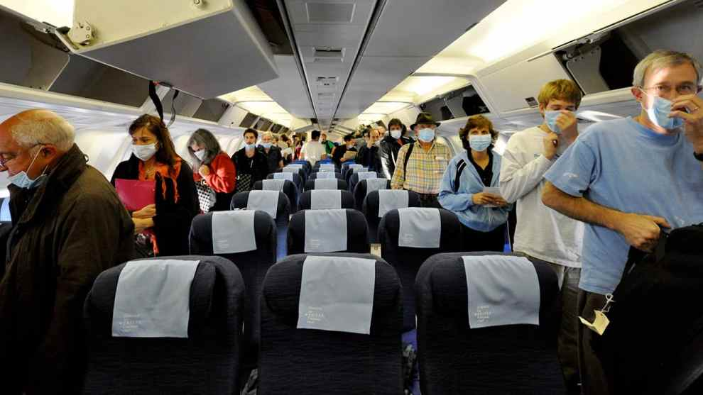 traveling when sick