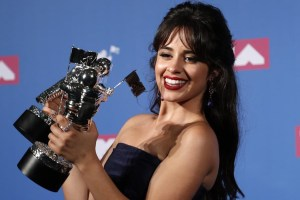 Camila Cabello won Video & Artist Of The Years at 2018 VMAs