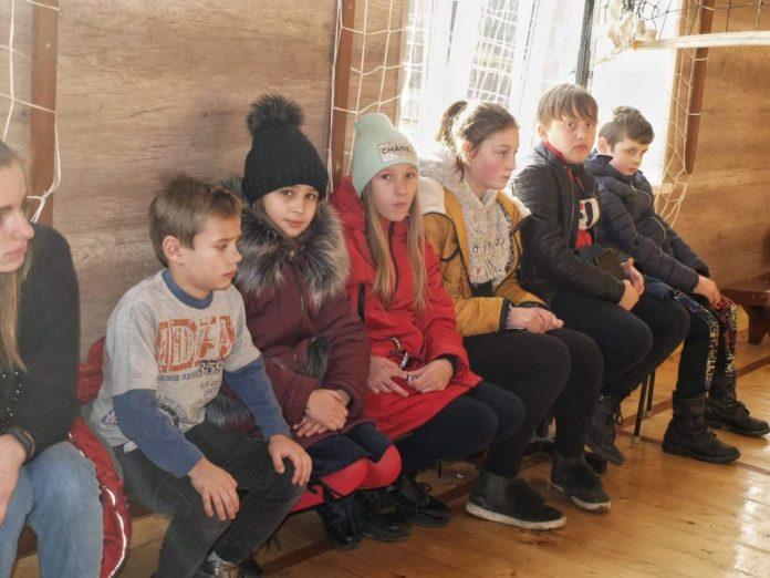 Вихованці Сколівської школи-інтернату