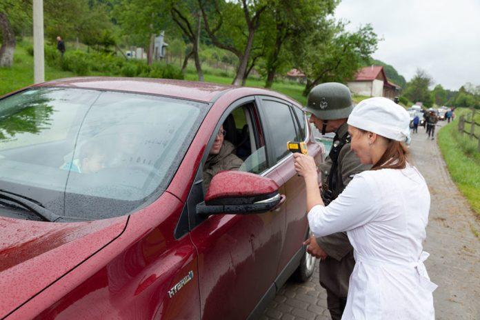 Перевірка температури та комплектація автомобіля