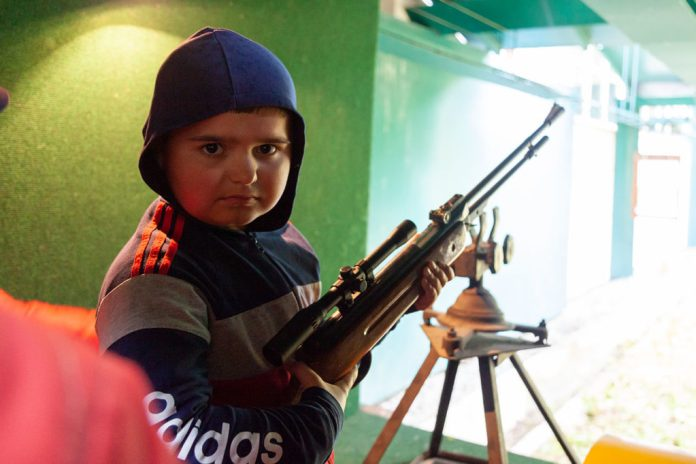 Конкурс стрільби з пневматичної зброї