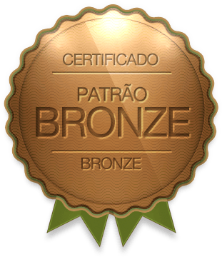 Badge - Patrão Bronze