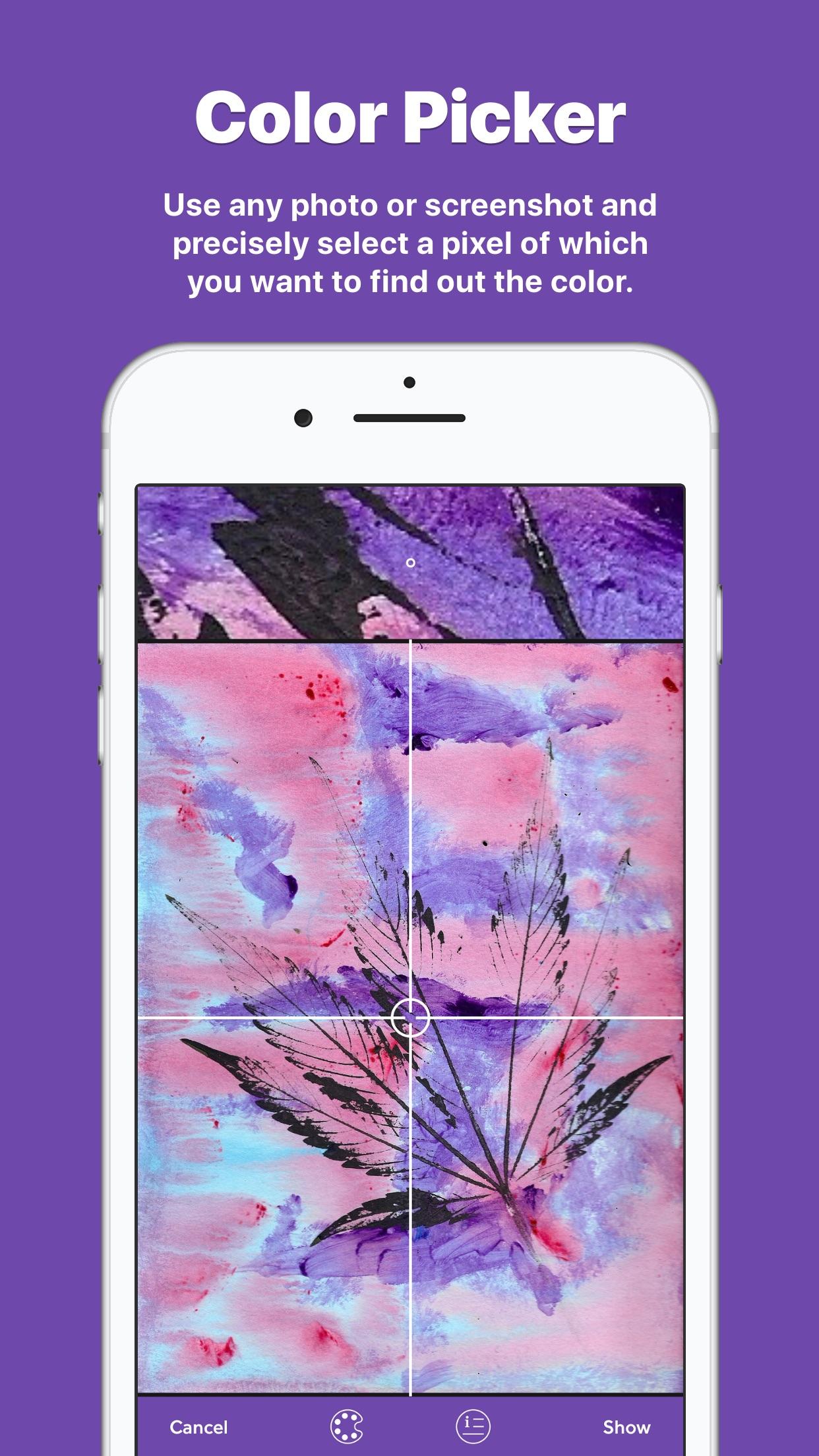 Screenshot do app Coloresque