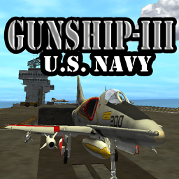 Ícone do app Gunship III - Combat Flight Simulator - U.S. Navy