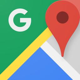 Ícone do app Google Maps -trânsito & comida