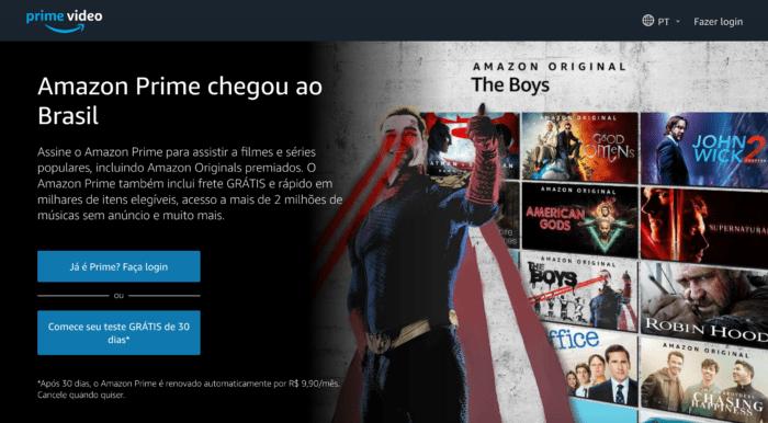 Amazon Prime Video Brasil