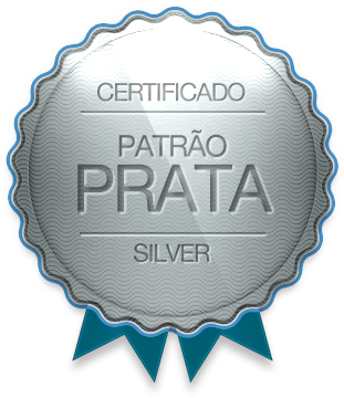 Badge - Patrão Prata