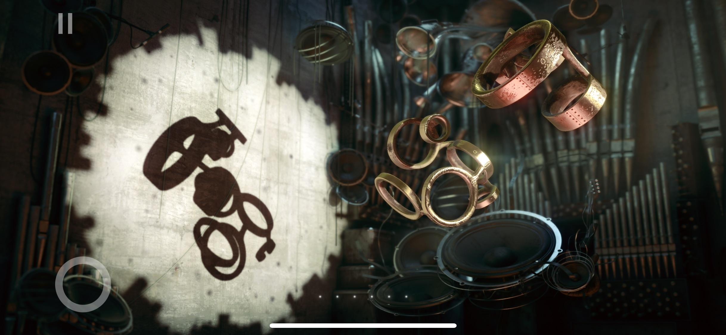 Screenshot do app Shadowmatic