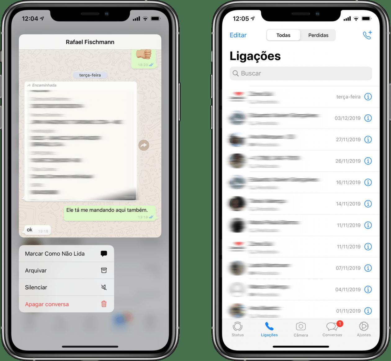 WhatsApp beta preparado para o iOS 13