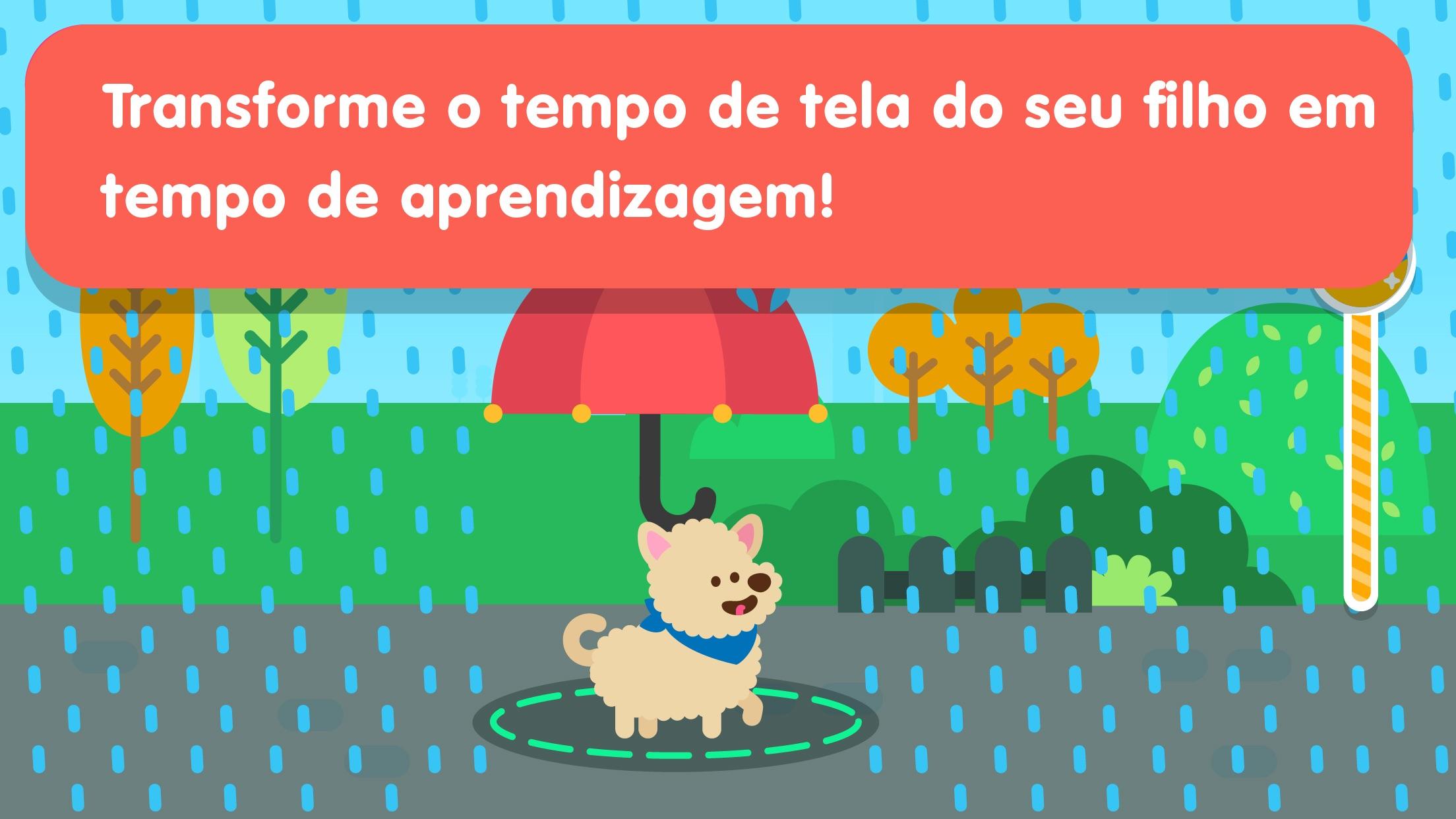 Screenshot do app Papumba - Aprendizagem Precoce