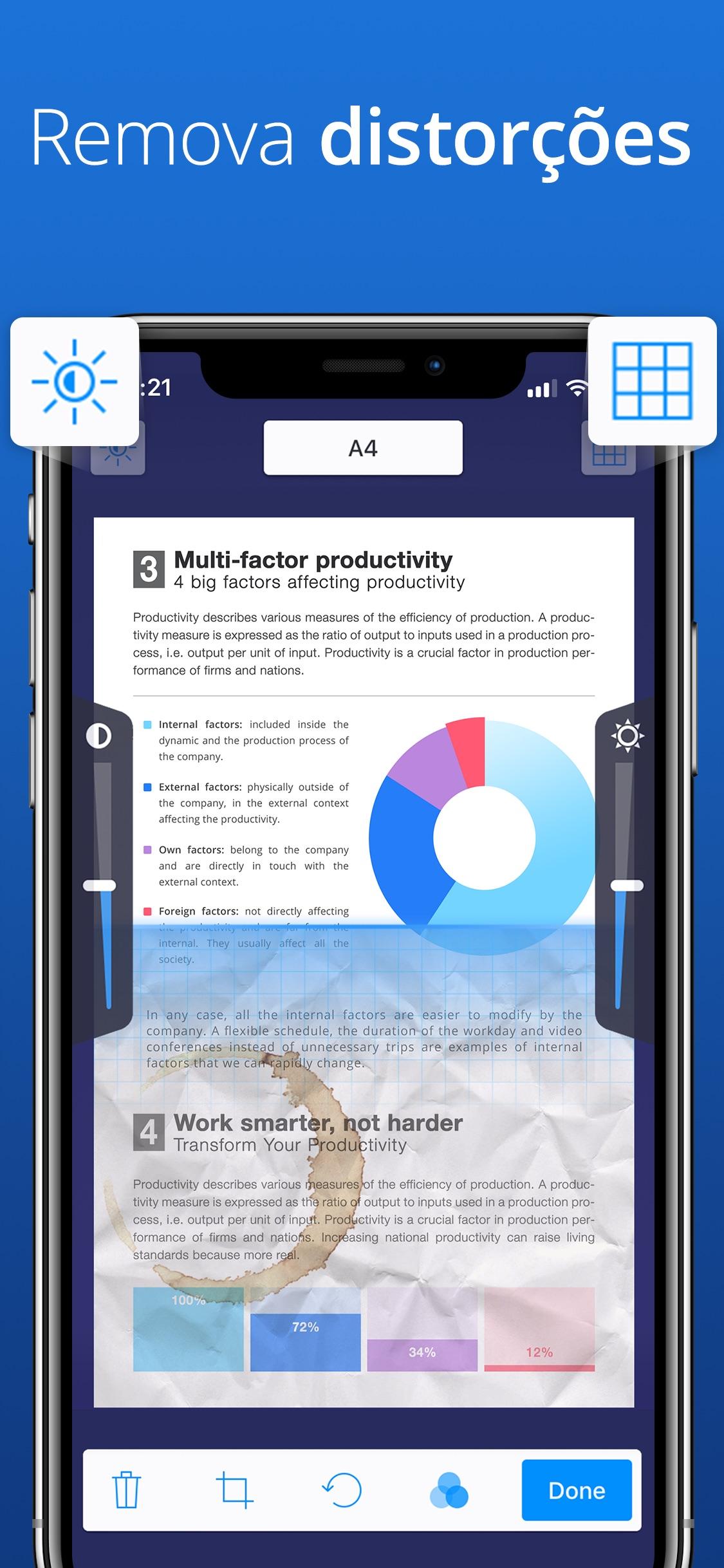Screenshot do app Scanner Pro