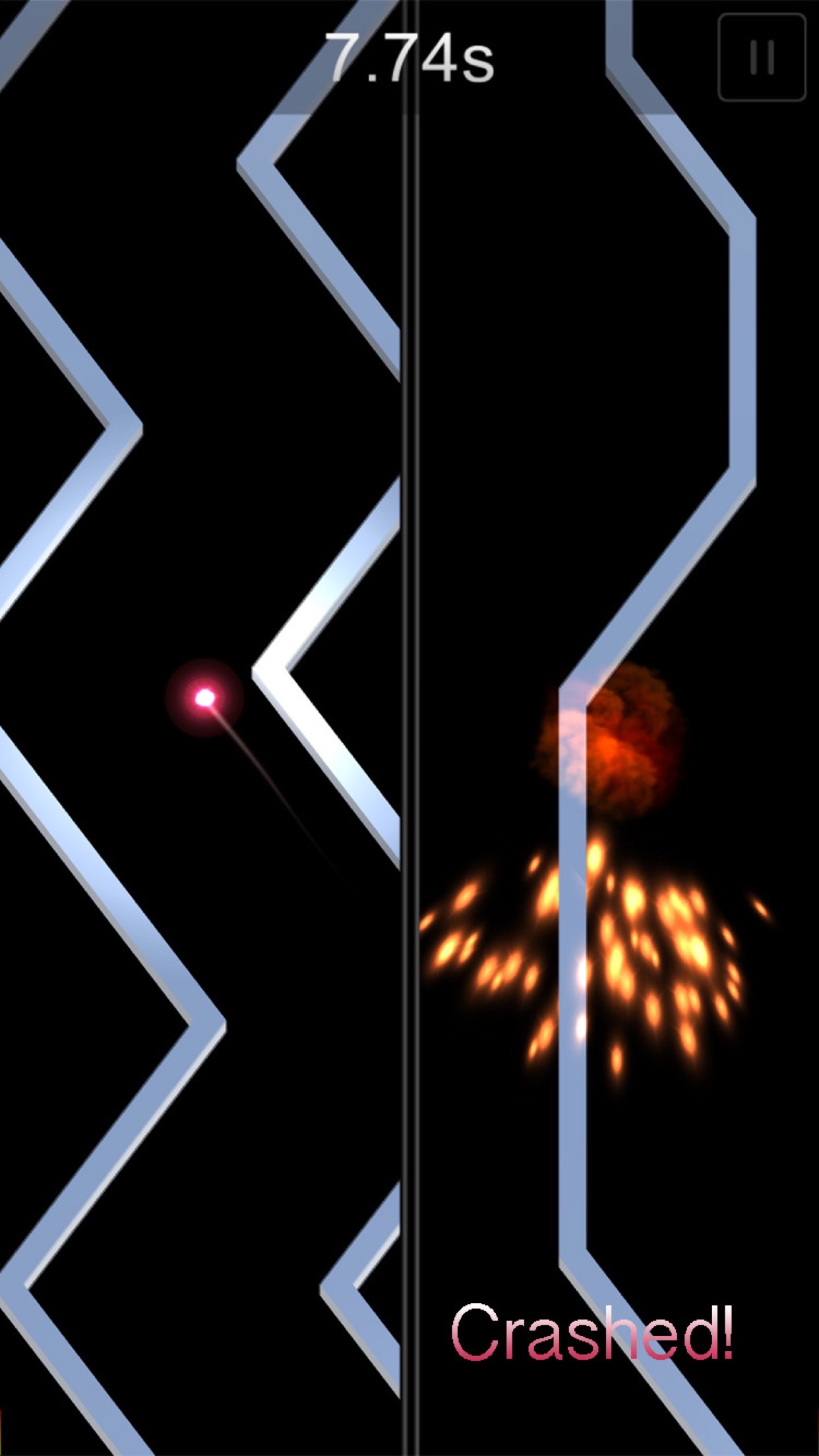 Screenshot do app Crash the Comet