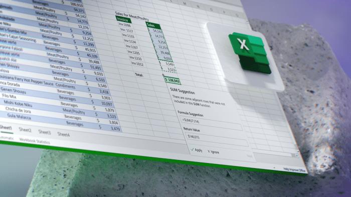 Novo visual do Microsoft Office