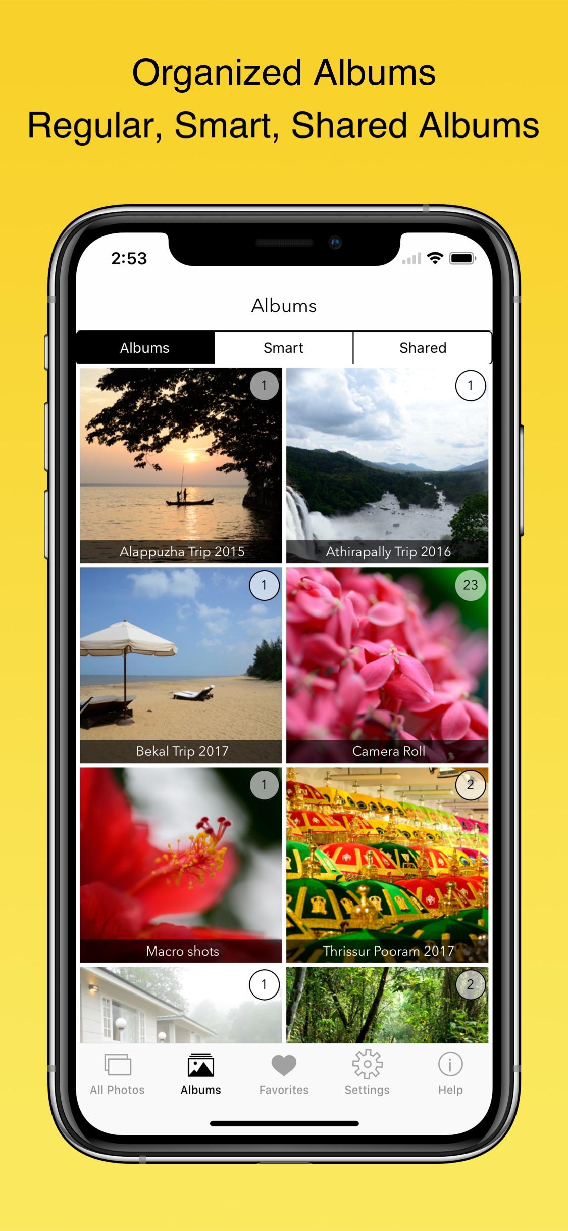 Screenshot do app EXIF Viewer by Fluntro