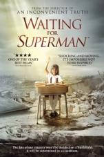 "Capa do filme Waiting for ""Superman"""