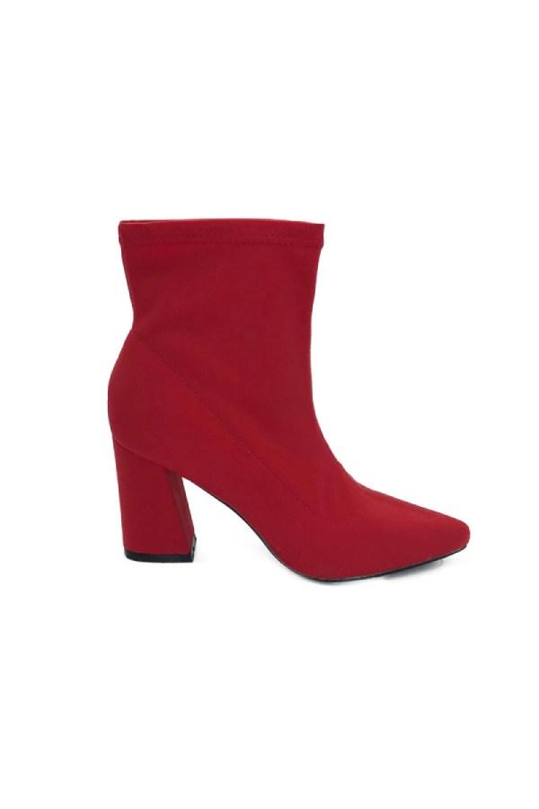 Μποτάκι κάλτσα κόκκινο