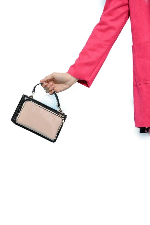 Τσάντα μικρού μεγέθους 2 θηκών