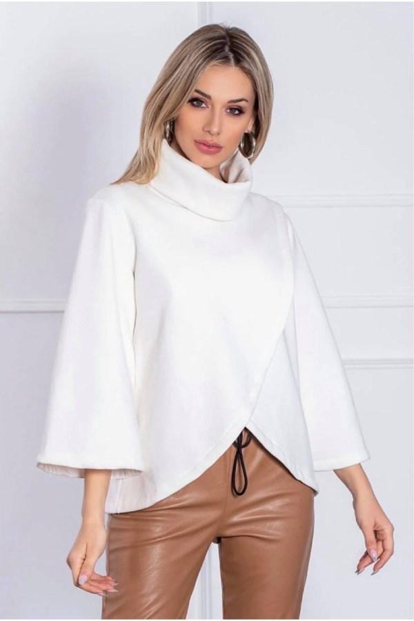 Μπλούζα φούτερ κρουαζέ