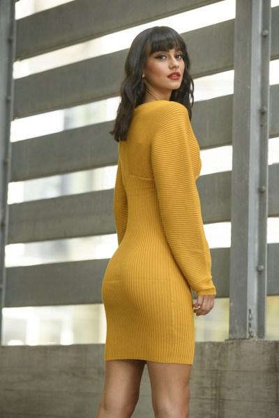Zazuela φόρεμα πλεκτό