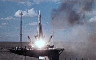 Lancement de la R7 avec Spoutnik