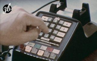 Telephone banking 1973
