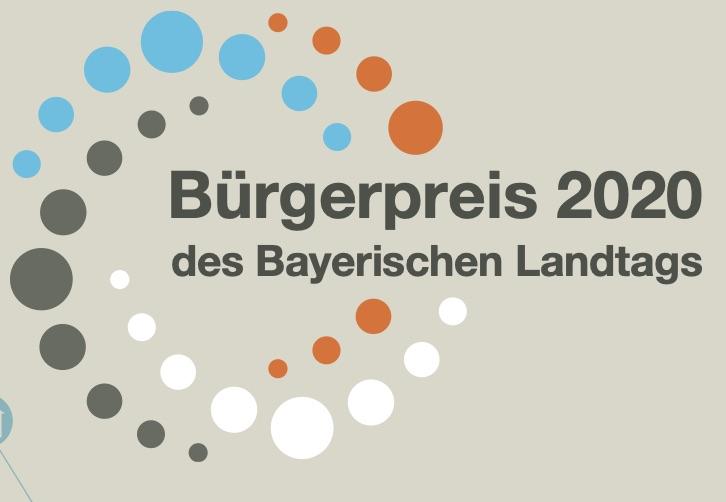 Bürgerpreis des Bayerischen Landtags 2020