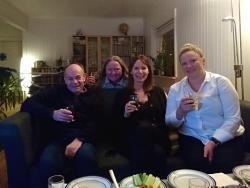 Bierverkostung mit Tanias Kollegen