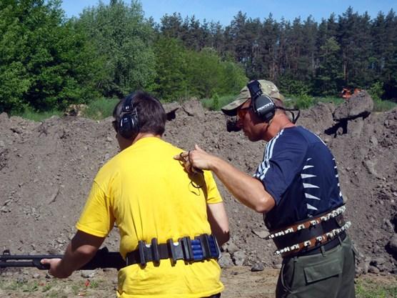 Обучение стрельбе из ружья