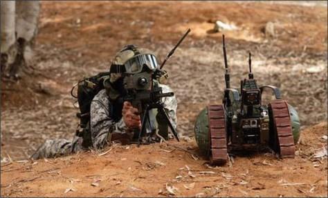 Штурмовой робот-сапёр VIPeR