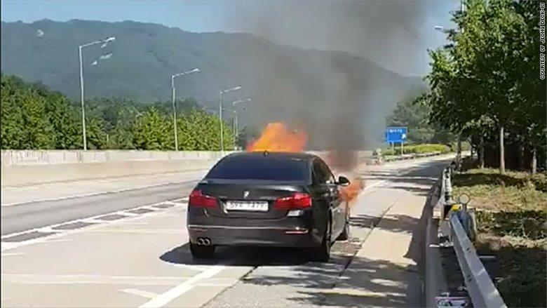 Hàng ngàn xe BMW gặp sự cố cháy nổ