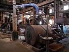 silnik parowy w elektrowni