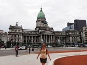 Koza i parlament Argentyny :)