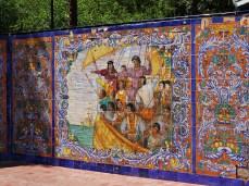Mozaika na Plaza España