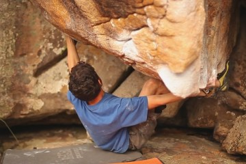 Photo bouldering au Brésil