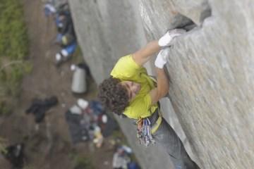 Jacopo Larcher redécouvre l'escalade