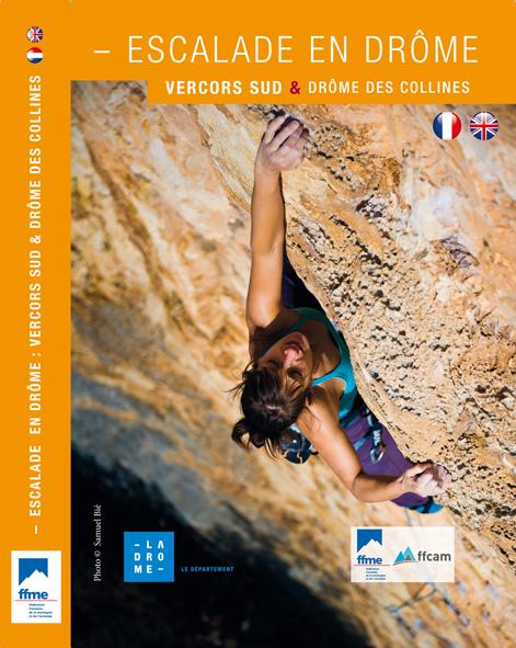 Nouveau topo d'escalade en Drôme