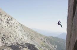 """Paige Claassen réalise """"Sarchasm"""", un 8b+ situé à 3500 mètres d'altitude"""