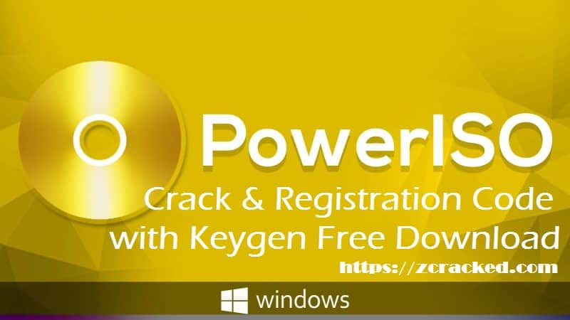 PowerISO Crack Free Download Full Version