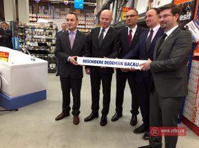 Inaugurarea celui de-al doilea magazin Dedeman din Bacău