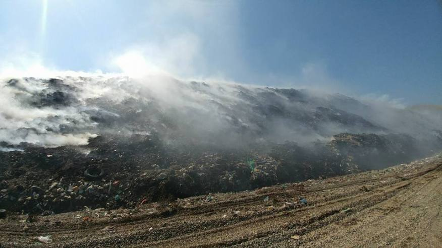 incendiu bacau groapa de gunoi 2