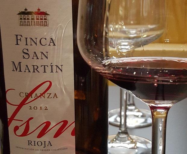 La Rioja Alta Finca San Martin Crianza 2012
