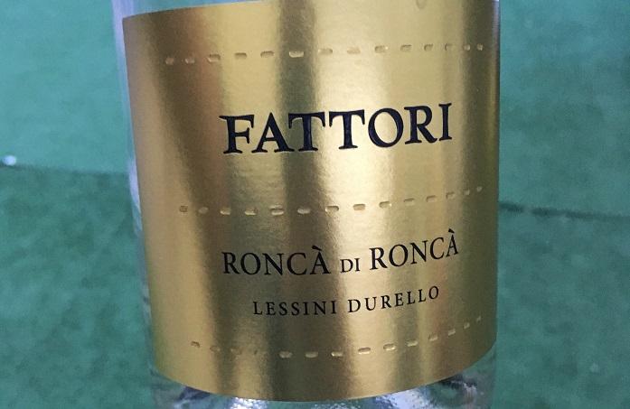 Wino na lato_Fattori Roncà di Roncà DOC Lessini Durello