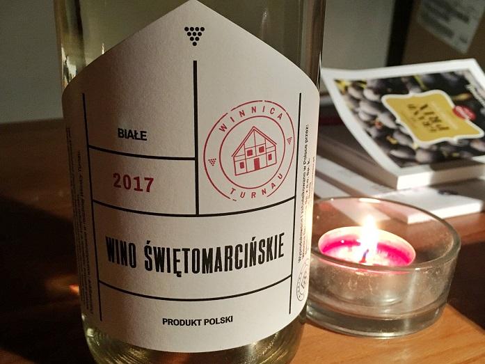 Winnica Turnau Wino Świętomarcińskie Białe 2017