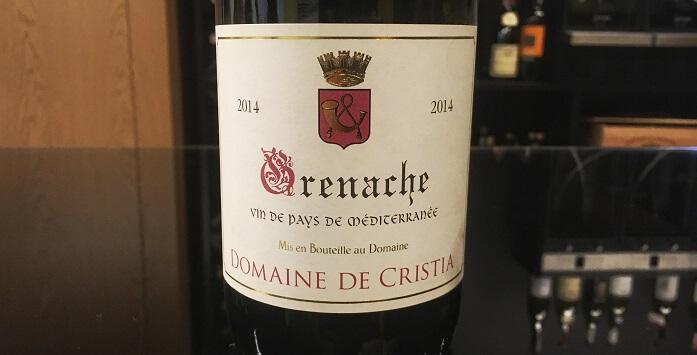 Wine Bureau Domaine de Cristia Grenache
