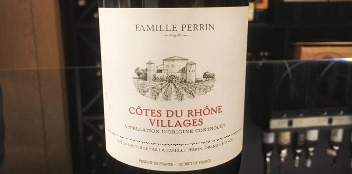 Wine Bureau Famille Perrin Côtes-du-RhôneVillages Rouge