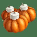 Pumpkin Candleholder